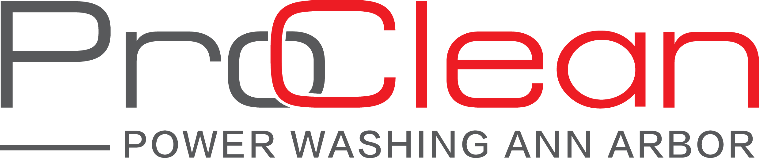 ProClean Power Washing Ann Arbor Branded Logo